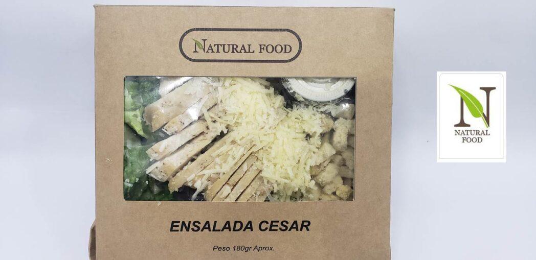 Natural Foods con logo4 - Natural Food lanza nueva línea de empaque con bolsas de papel y cajas de cartón