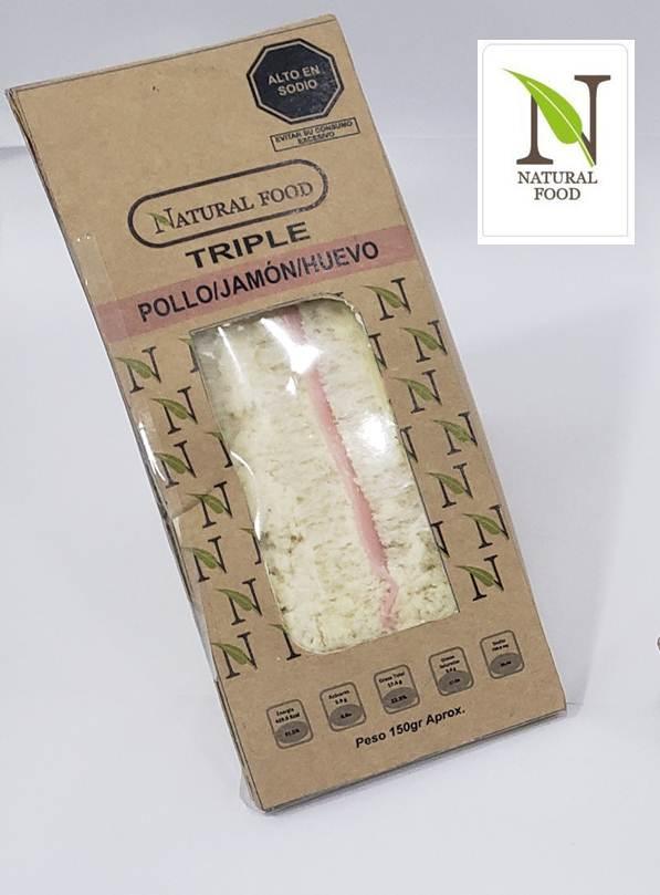 Natural Foods con logo5 - Natural Food lanza nueva línea de empaque con bolsas de papel y cajas de cartón