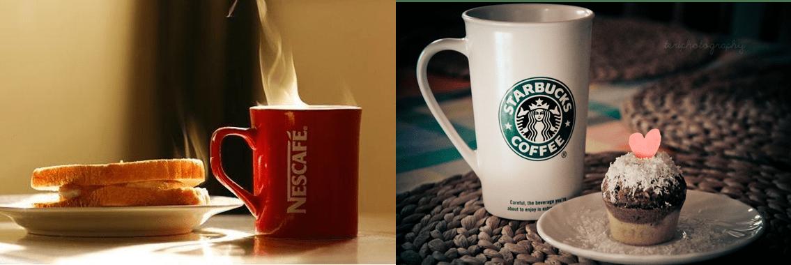 Nescafé y Starbucks - Conozca la estrategia de Nescafé para competir con Starbucks