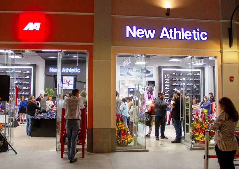 New Athletic 1 - New Athletic inaugura tienda en Minka