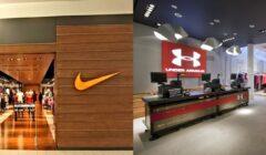 Nike y Under Armour