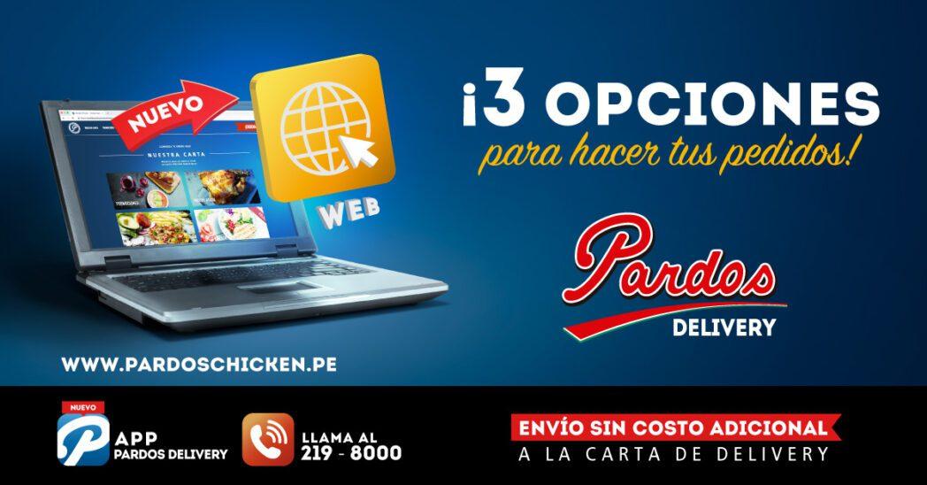 Nota de Prensa - Es oficial: Pardos Chicken lanza su plataforma de ecommerce