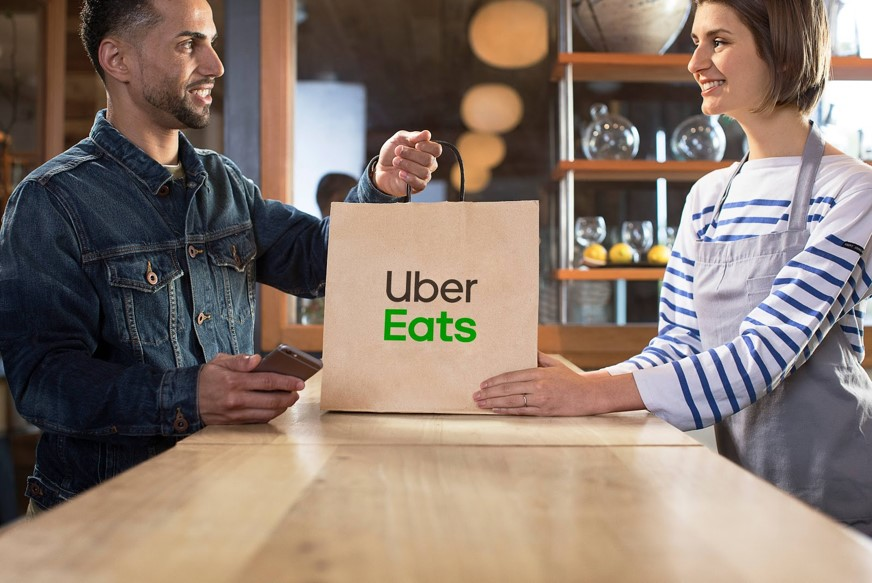 Nueva función para llevar de Uber Eats