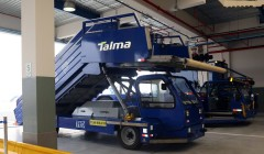 Nuevos equipos 240x140 - Talma cuenta con nueva base de operaciones de rampa en el Aeropuerto Jorge Chávez