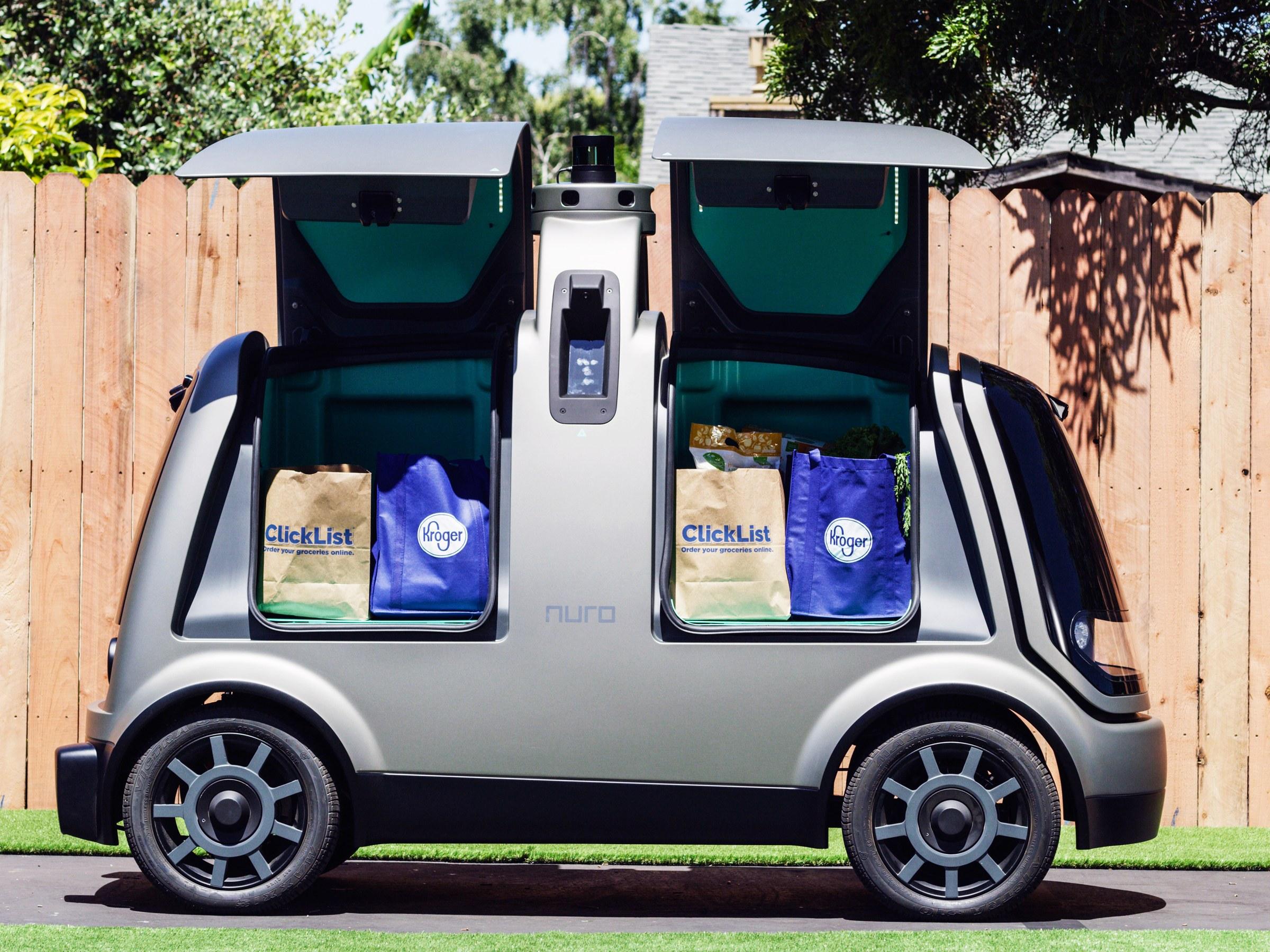 Nuro 7 - Kroger ofrece delivery con vehículos autónomos de Nuro