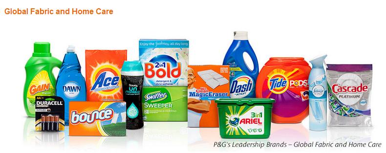 PG Sure Dividend origin - Detergentes, la unidad que más vende en Procter & Gamble