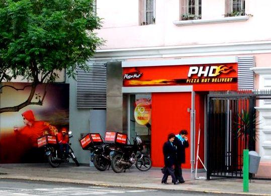 """PHD lima peru 201 - """"El 59% de los pedidos de pizzas se atiende vía delivery en Perú"""""""