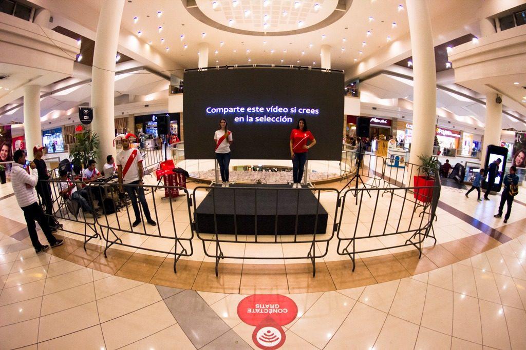 Mall Aventura Santa Anita Instalar 225 Pantalla Gigante Este