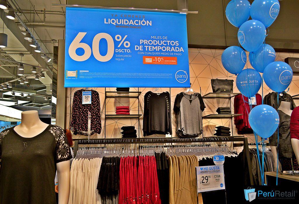 """Paris 0218 Peru Retail 1 - """"Tener muchas promociones no permiten a las marcas volver a sus precios normales"""""""