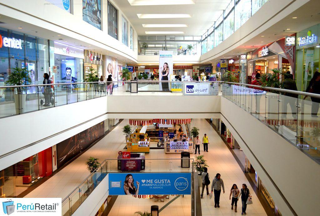 Pasillo Mall del Sur 340 - peru retail