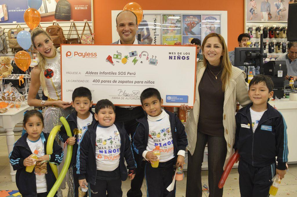 Payless foto 3 1024x682 - Payless Shoesource realizó importante entrega a Aldeas Infantiles SOS Perú