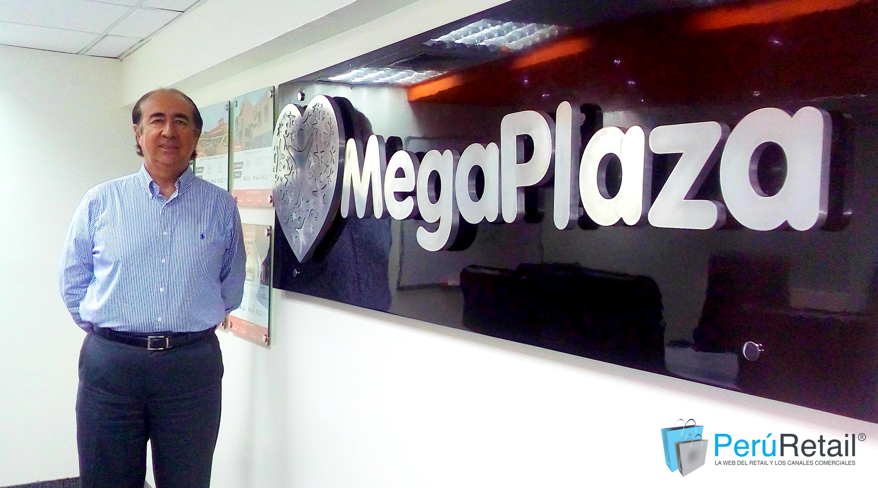 """Percy Vigil 3017 peru retail - MegaPlaza: """"Deberíamos trabajar un proyecto comercial al año"""""""