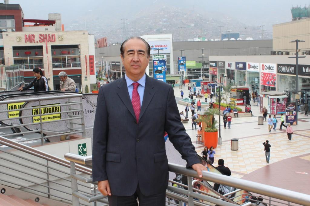 Percy Vigil MegaPlaza Peru 1024x683 - Juegos Panamericanos: MegaPlaza Villa El Salvador II se alista para impulsar ventas