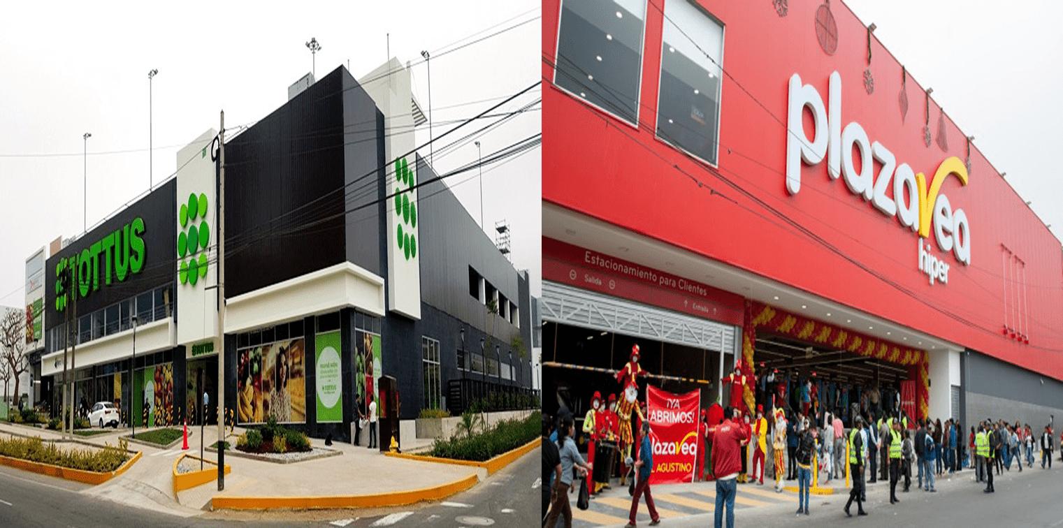Plaza Vea y Tottus - Tottus y Plaza Vea se enfrascan en la guerra de los precios bajos