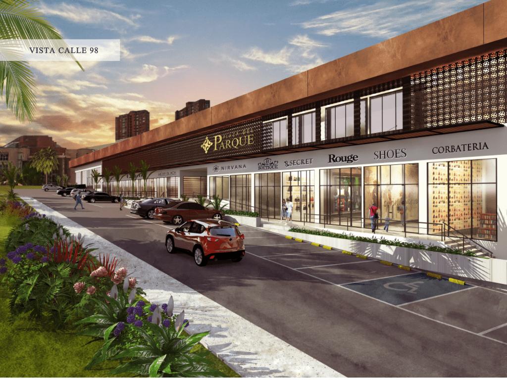 Plaza del Parque - Conozca los 7 malls que se abrirán en Barranquilla entre el 2016 y el 2018