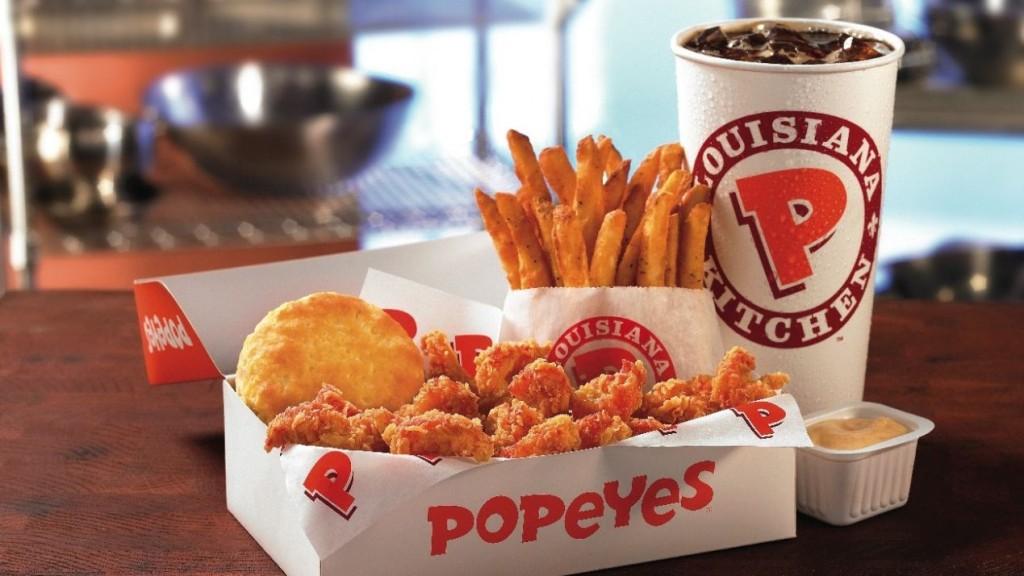 Popeyes 1024x576 - Burger King planea comprar Popeyes por $1.8 mil millones