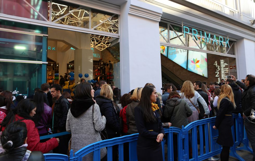 Primark abrió tienda en la Gran Vía España 3 - Primark abrió en la Gran Vía su segunda mayor tienda del mundo