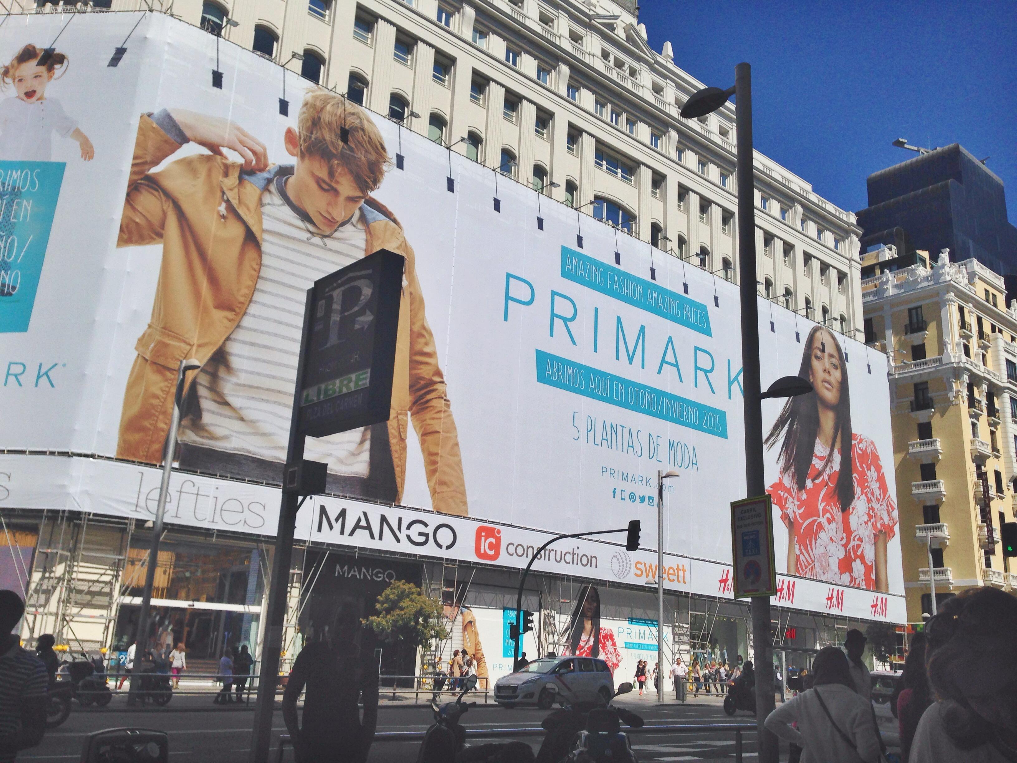 Primark abrirá en La Gran Via