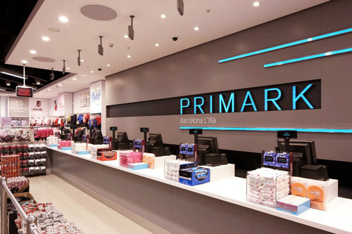 Primark crece en ventas gracias a su expansión internacional