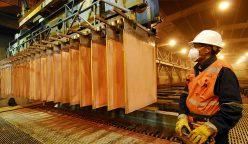 Producción cobre