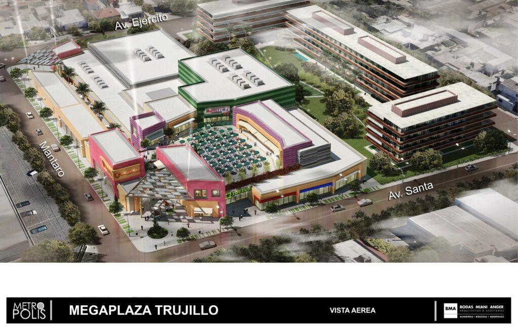 Proyecto Trujillo1 1024x652 - Malls de MegaPlaza y Lindley en proyecto para abrir en Trujillo