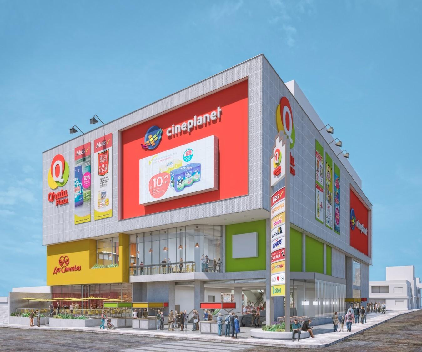Qhatu Plaza 5 - Mall vecinal: nueva alternativa de negocio para los emprendedores peruanos