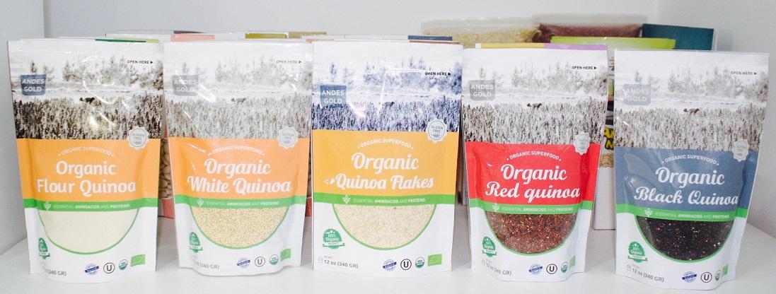 Quinua orgánica en supermercados - Quinua orgánica peruana llega a supermercados de Brasil