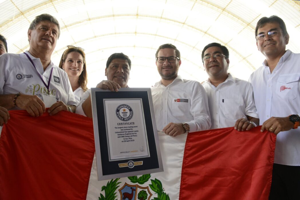 RECORD GUINNESS PISCO - PERÚ RETAIL