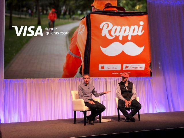 Rappi y Visa