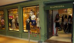 Rapsodia tienda centro comerial 248x144 - Rapsodia: Marca de moda femenina planea desembarcar en Perú, Ecuador y EE.UU