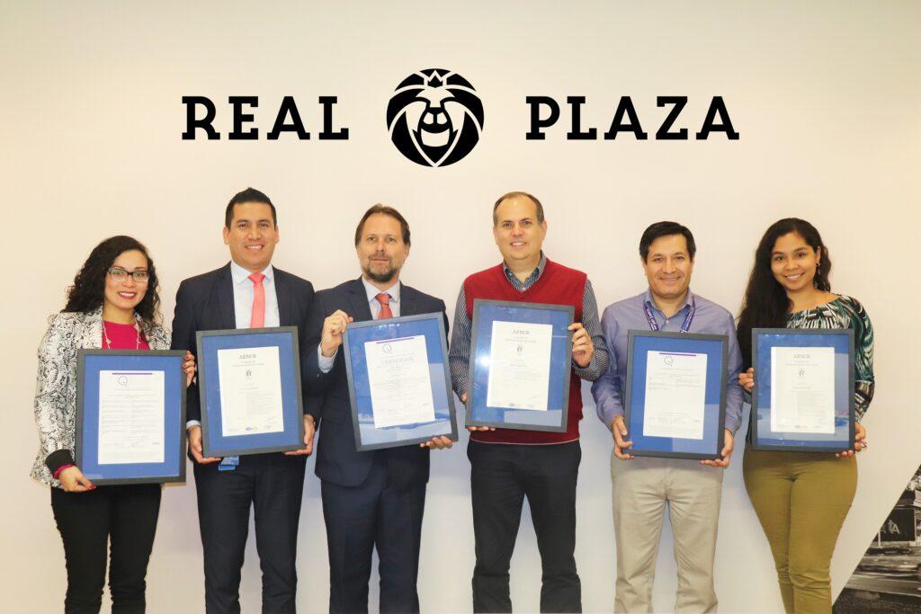 Real Plaza ISO 1024x683 - Real Plaza se convierte en la primera cadena certificada por AENOR