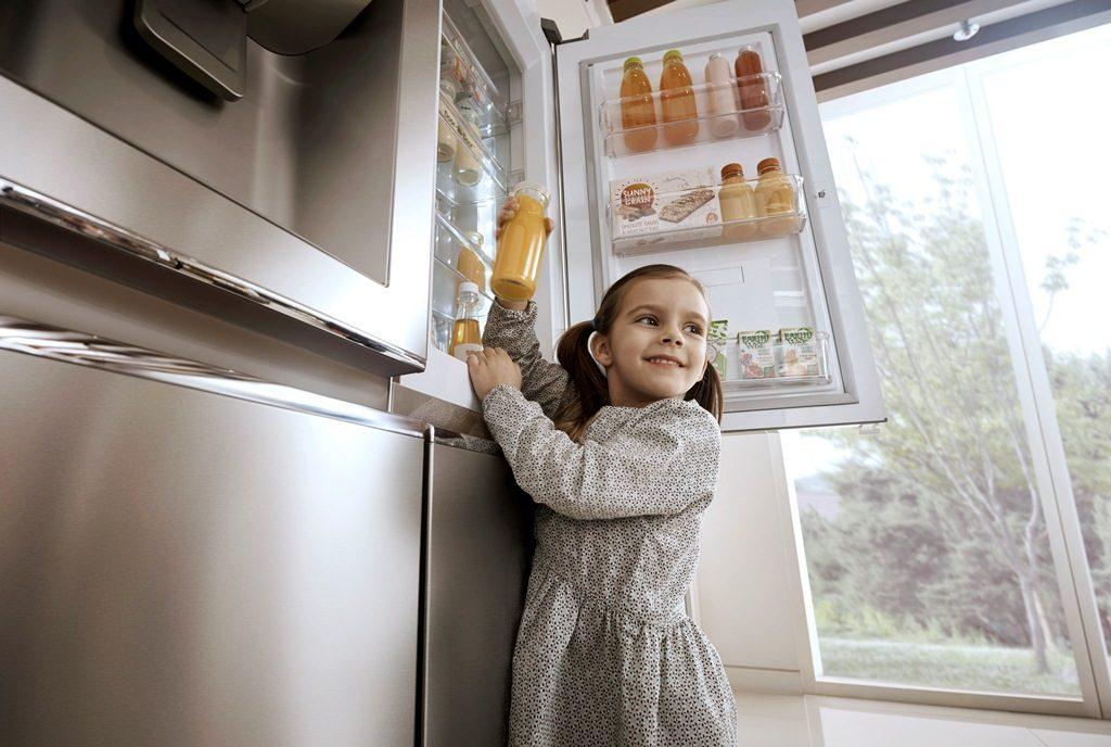 Refrigeradoras Tecnología de LG enfría 35 más rápido que un sistema convencional 1 1024x688 - ¿Qué tipo de refrigeradoras puede encontrar en el mercado peruano?
