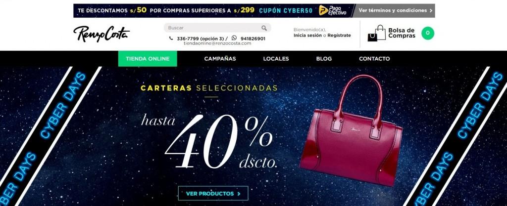 Renzo Costa ecommerce 1024x417 - Renzo Costa no abrirá tiendas este 2018, pero continúa reforzando su e-commerce