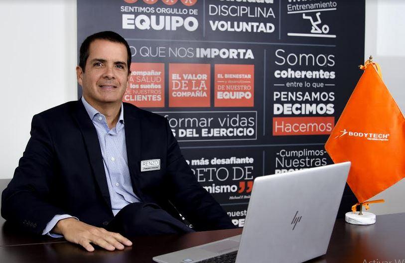 Renzo Ricci - Renzo Ricci es el nuevo gerente general de Bodytech en Perú