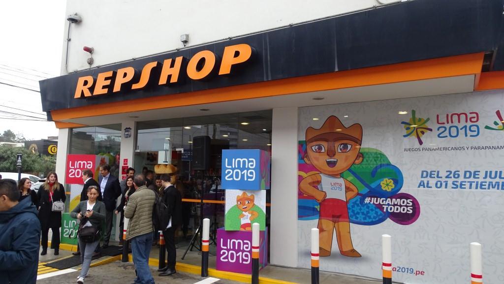 Repshop4 - Perú: Repshop tendrá 30 tiendas de conveniencia oficiales de los Juegos Panamericanos 2019