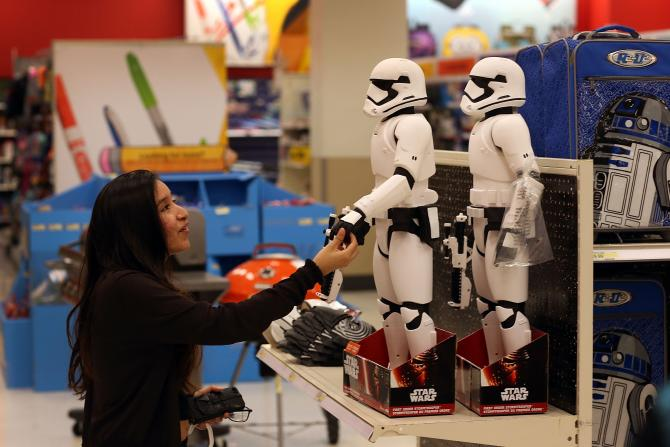 Retail Star Wars