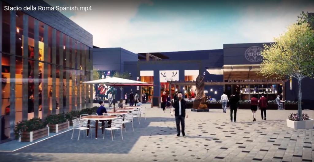 Roma Entertainment Center 3 1024x529 - Conoce el nuevo mall que unirá un estadio, hotel, tiendas y áreas de ocio en Roma