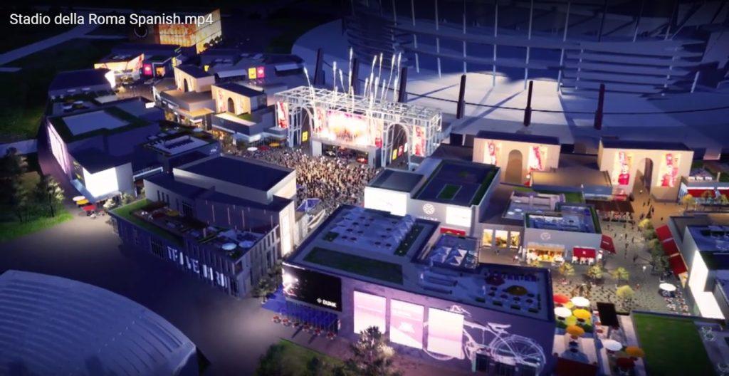 Roma Entertainment Center 6 1024x528 - Conoce el nuevo mall que unirá un estadio, hotel, tiendas y áreas de ocio en Roma