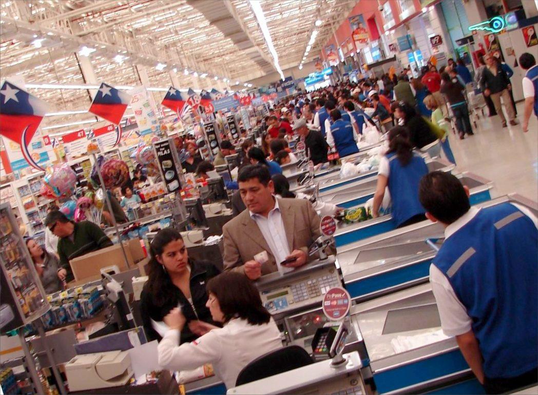 Sólo cinco nuevos supermercados se abrieron en Chile el 2015