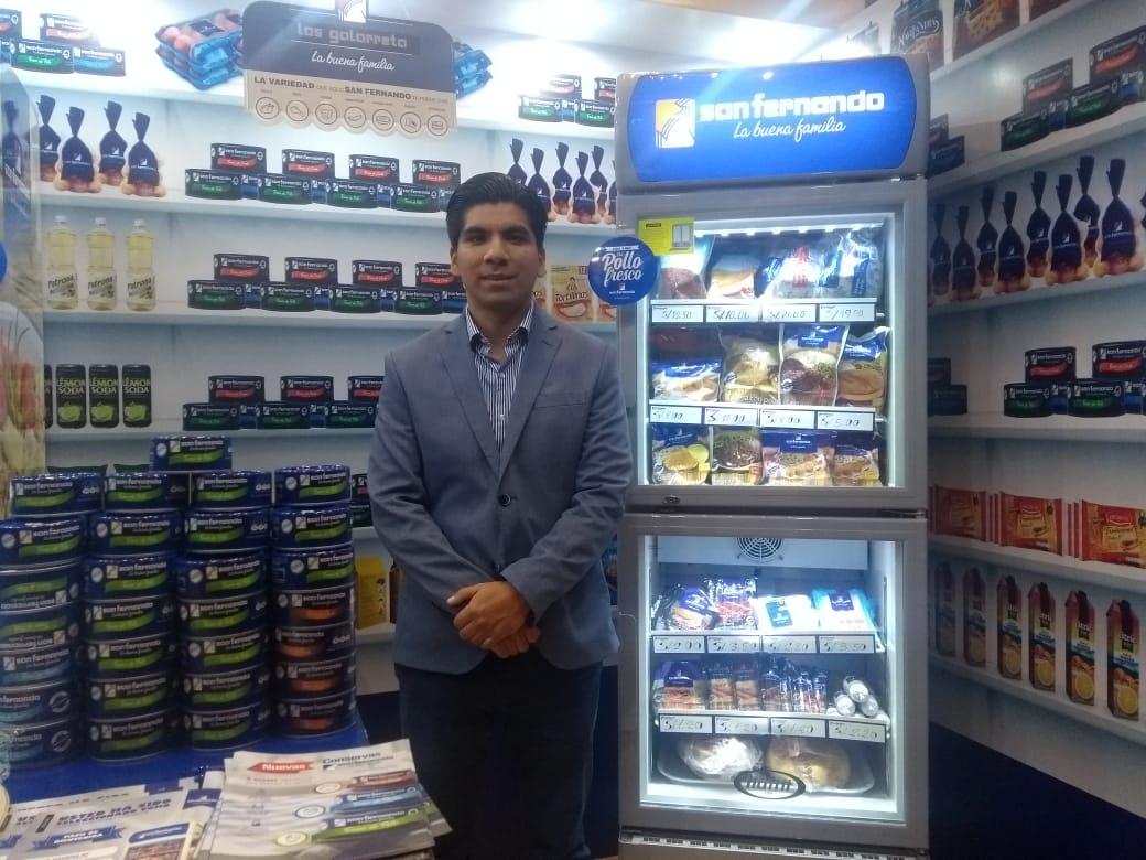 SAN FERNANDO JORGE GALARRETA PERÚ RETAIL - San Fernando y su estrategia para que sus productos se conserven de la bodega a la mesa