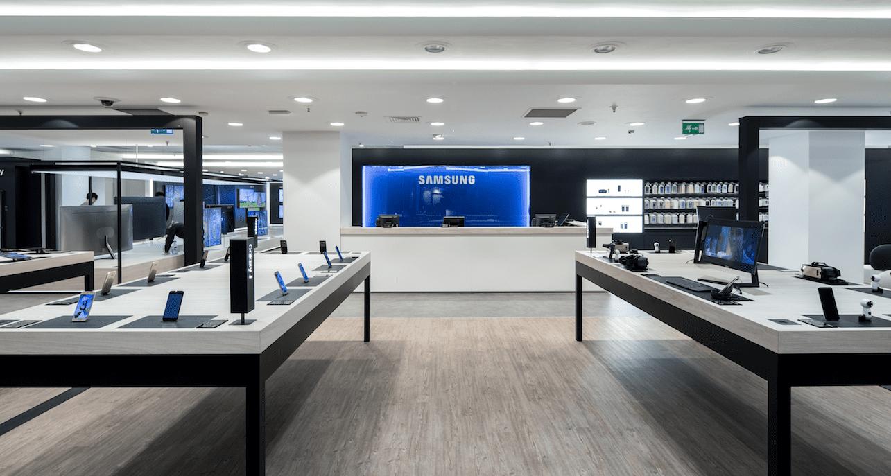 Samsung Store Callao 6 baja - Samsung Store abre tienda interactiva en España