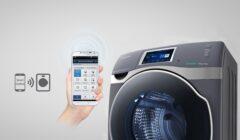 Samsung lanza lavadora inteligente que puede ser controlada desde un Smartphone