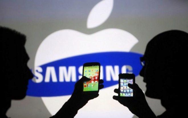 Samsung y Apple - Samsung apuesta por un smartphone plegable y cuadrado para impulsar ventas