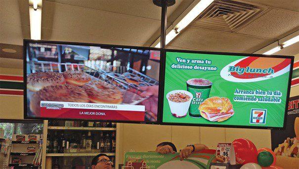 Scala en 7 Eleven Mexico5 605x341 - La señalización digital engancha al consumidor actual