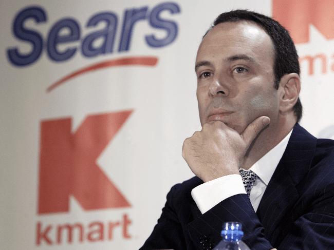 Sears CEO - Sears obtiene préstamo de US$100 millones del fondo de cobertura de su CEO