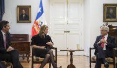 Sebastián Piñera y Teresa Carlson 240x140 - Amazon en Sudamérica: Alta Ejecutiva del gigante ecommerce se reunió con Sebastián Piñera para evaluar inversiones en Chile