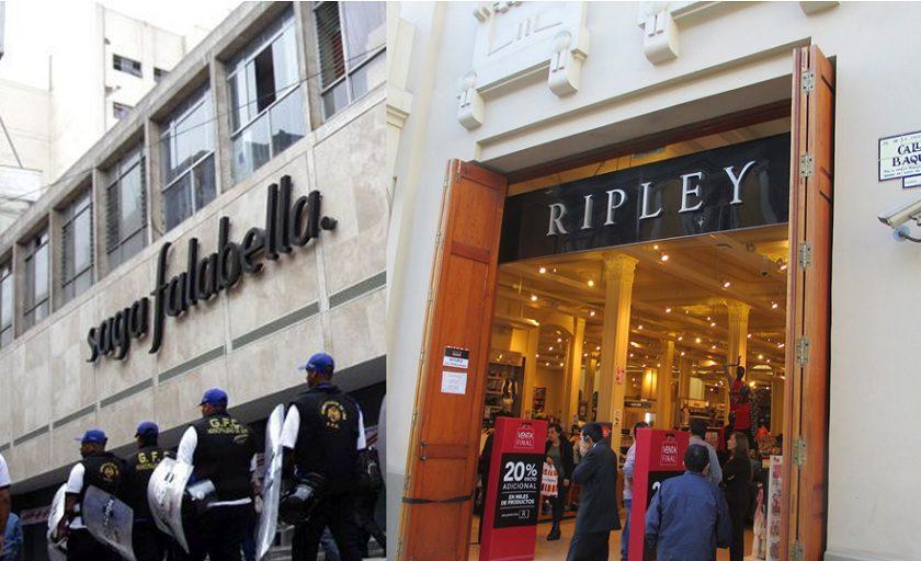 Sin título15 - Clausuran Saga Falabella y Ripley del centro de Lima