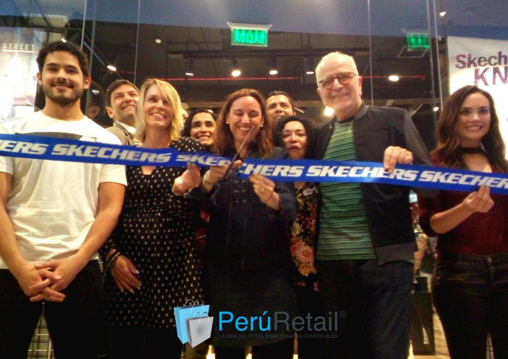 Skechers Mall del Sur 1 Peru Retail 1024x725 - Skechers inauguró oficialmente una exclusiva tienda en Mall del Sur