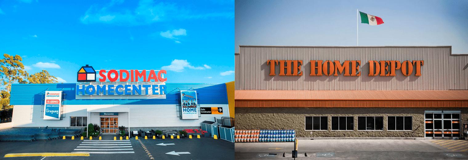 Sodimac y Home Depot