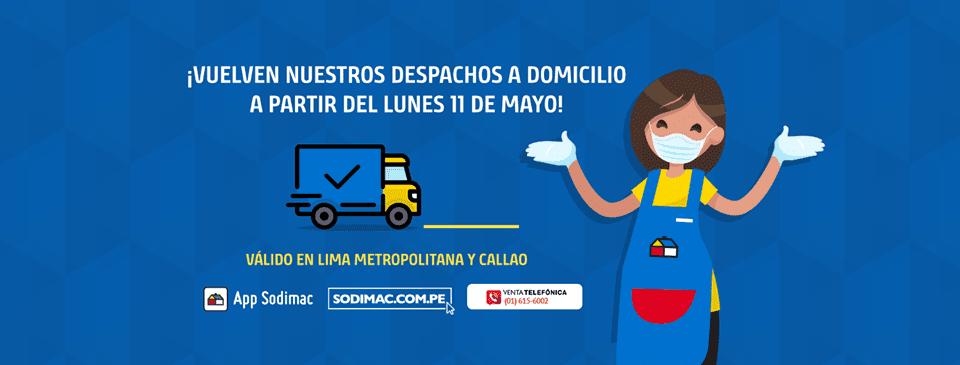 Sodimac - Perú: Ripley, Sodimac y otros retailers reanudan operaciones con delivery